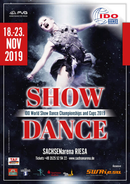 Word Championship Show Dance 2019 Riesa, all finals children